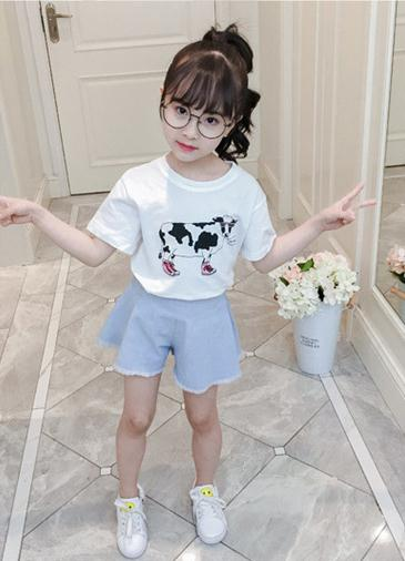 เสื้อ+กางเกง แพ็ค 4 ชุด ไซส์ 110-120-130-140 (เลือกไซส์ได้)