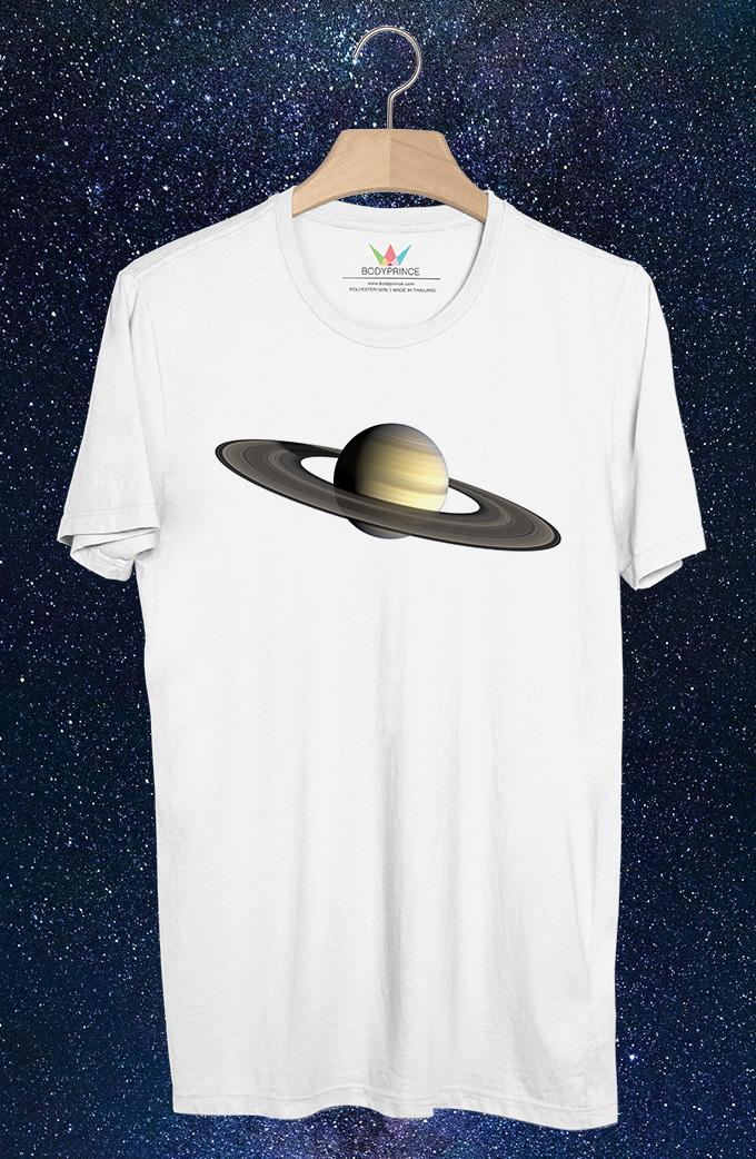 BP398 เสื้อยืด Saturn:ดาวเสาร์