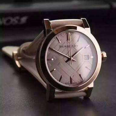 นาฬิกา Burberry The City Rose Gold BU9109 แบรนด์แท้