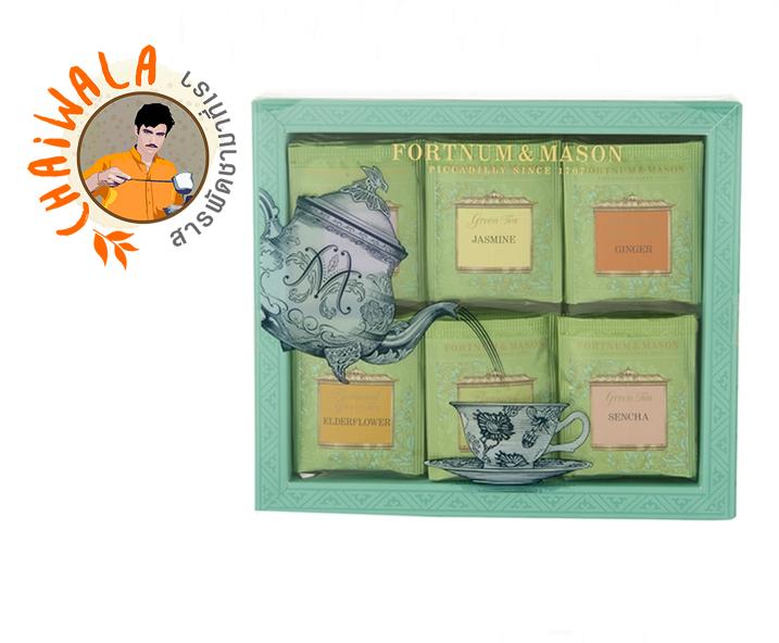 Fortnum & Mason : Green Tea Bag Selection, 60 Tea Bags