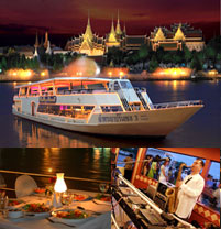 Dinner Cruise by Chao Phraya Princess (เด็ก/คนไทย)