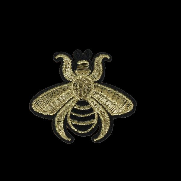 S0097 Bee Gold 5.3x5.8cm