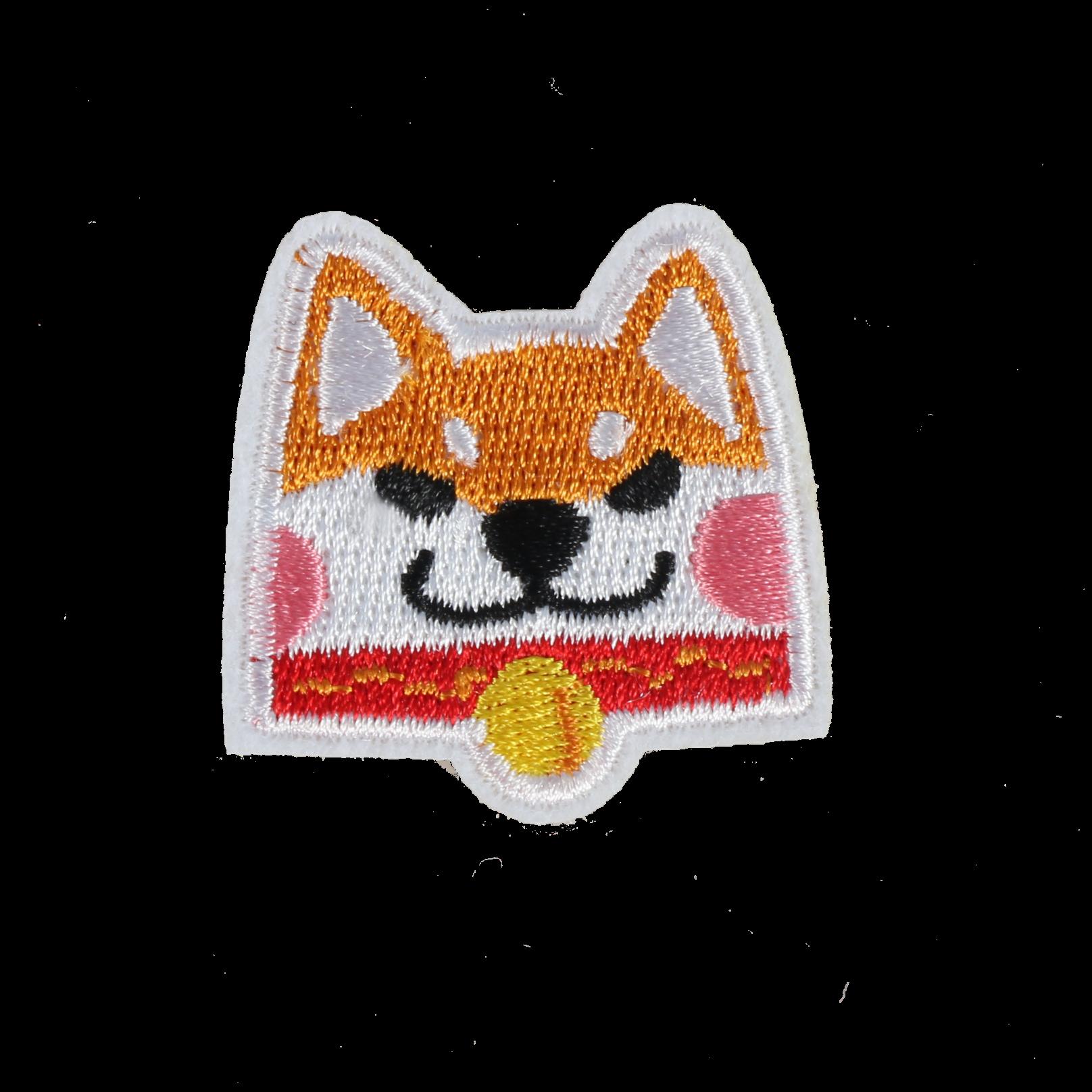 S0091 Shiba Dog 4x4cm