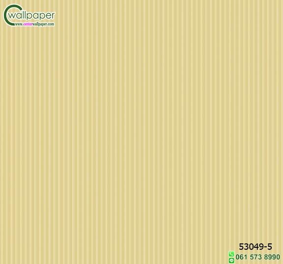 วอลเปเปอร์ลายทางเส้นตรงสีเหลืือง