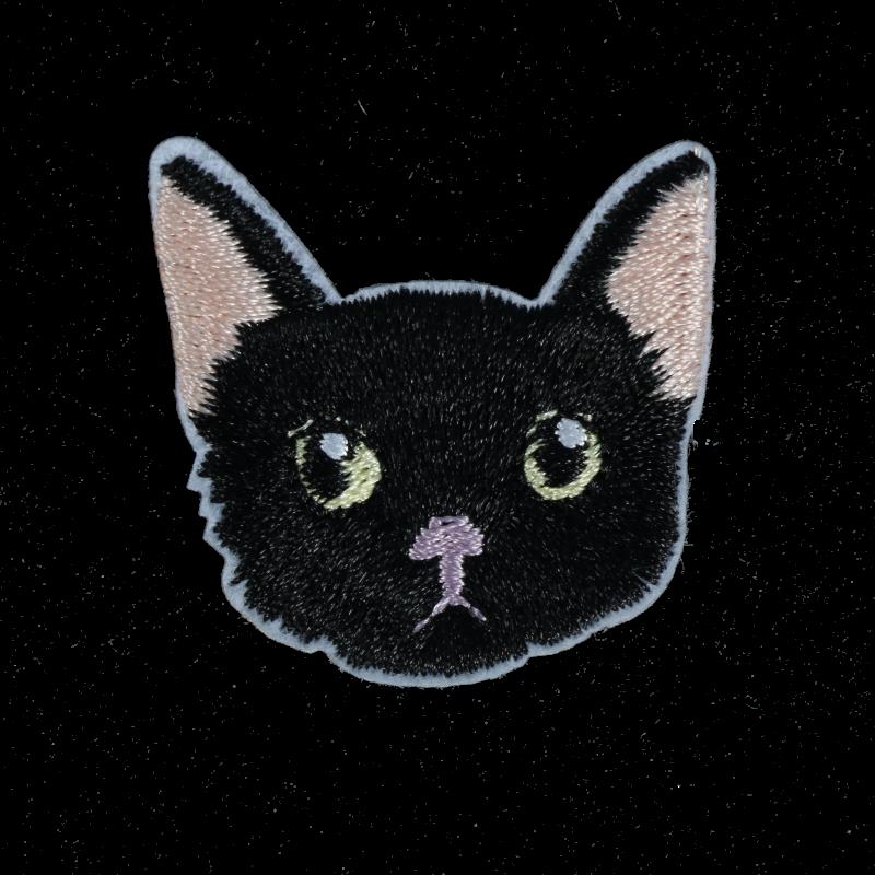 M0124 Black Cat 3.6x3.4cm