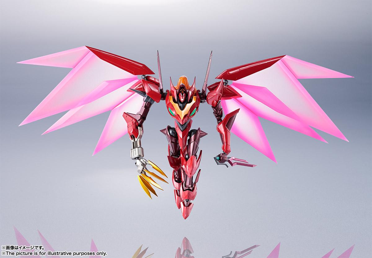 Bandai Metal Robot Spirits Guren Type-08 Elements Seiten Code Geass USA
