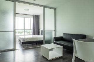 For Rent :ให้เช่า ดีคอนโด แคมปัส รีสอร์ท บางนา, Dcondo Campus Resort Bangna , ชั้น 8 ตึก D ห้องกว้าง แต่งสวย พร้อมเข้าอยู่