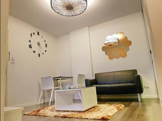 For Rent :ให้เช่า ดีคอนโด แคมปัส รีสอร์ท บางนา, Dcondo Campus Resort Bangna , ชั้น 8ตึก C ห้องกว้าง แต่งสวย พร้อมเข้าอยู่