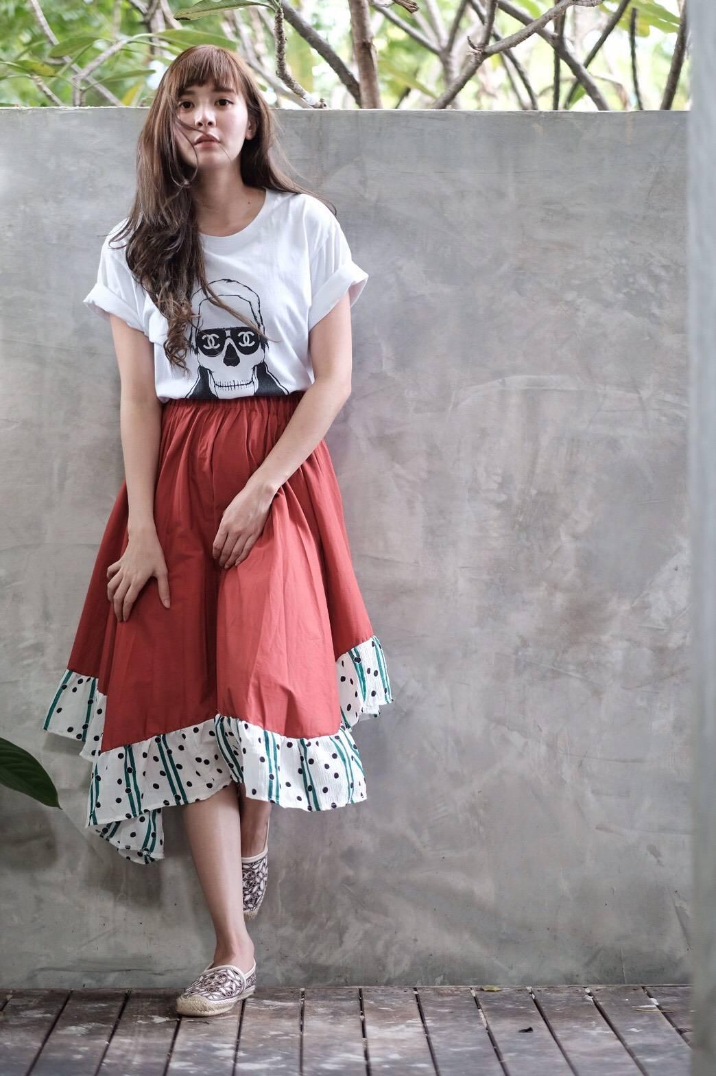 กระโปรงแฟชั่น Minimal skirt