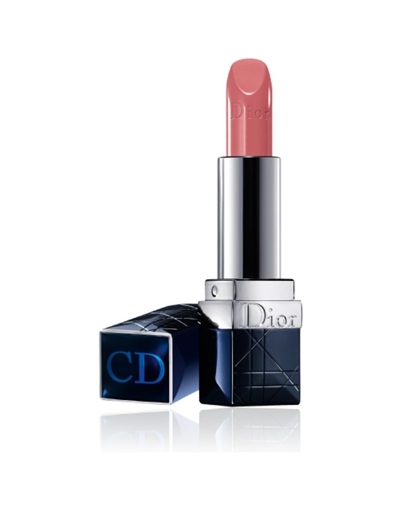 Rouge Dior Lipstick #417 Souffle Nude สีคอรัลอมชมพูเนื้อซาติน (Tester ฝาขาว) แต่งแต้มเรียวปากสวยดั่งดาราฮอลลี่วู๊ด