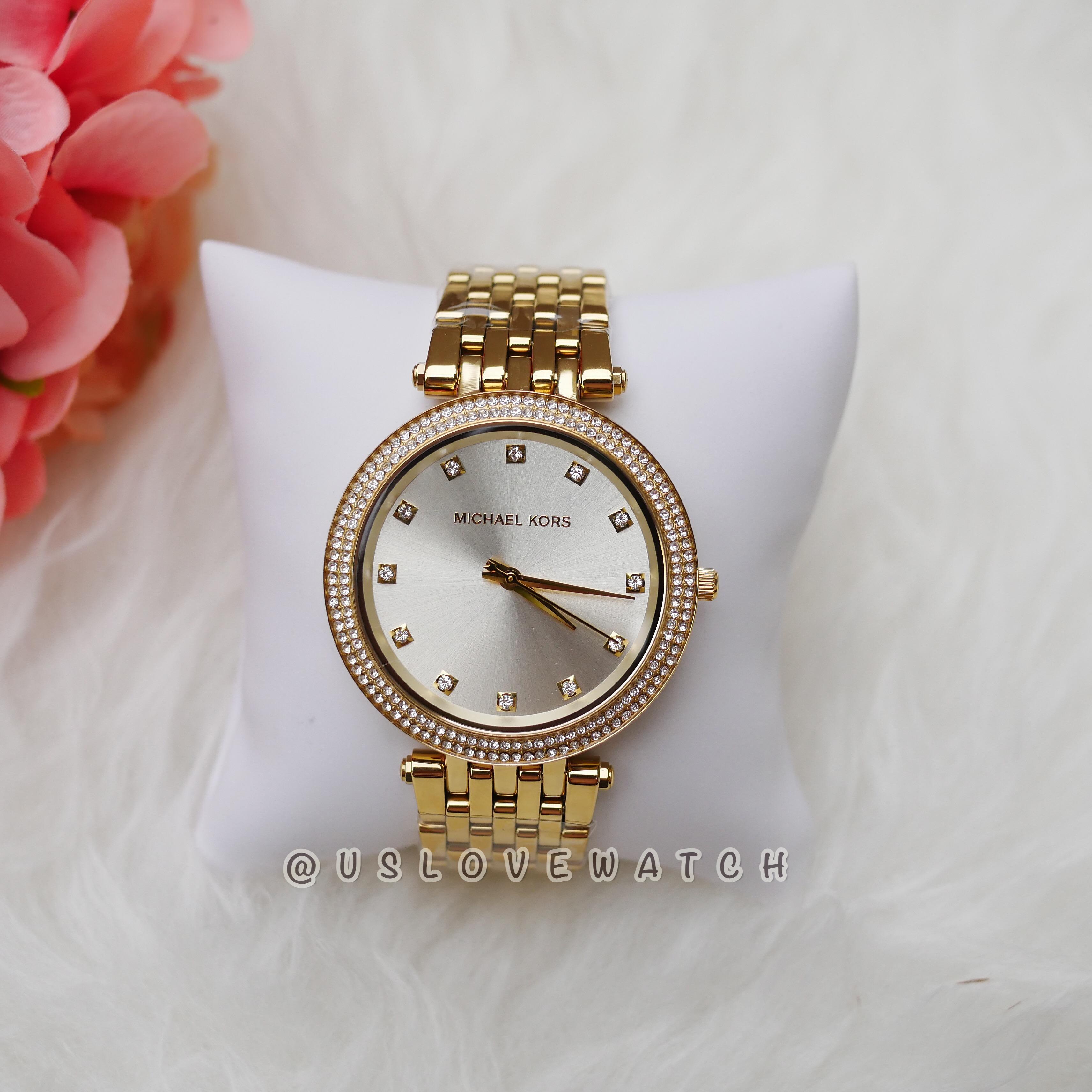 bcd9c9473c7e Michael Kors Women apos s Darci Yellow Gold Stainless Steel Watch MK3216 -  LnwDropship หาของขายออนไลน์ ไม่ต้องลงทุน ไม่ต้องสต็อก