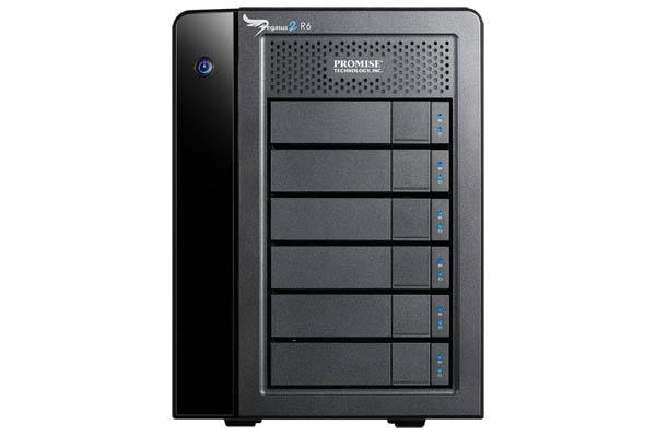 Pegasus2 R6 18TB (6 x 3TB) Thunderbolt 2 RAID
