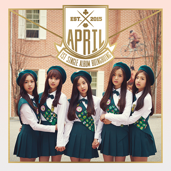 APRIL - Single Album Vol.1 [Boing Boing]