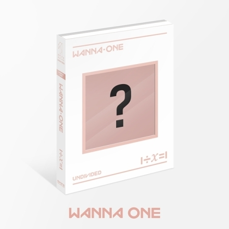 WANNA ONE - Special Album [1÷χ=1 (UNDIVIDED)] หน้าปก Wanna One Ver