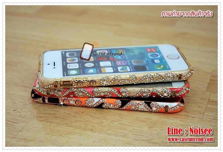 เคส iPhone5/5s - Diamond Art Bunper