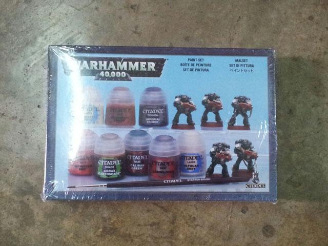 Warhammer 40,000 Paint Set