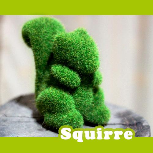 ตุ๊กตาหญ้าเทียม : SQUIRRE