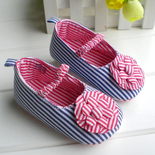 BE2030 (Pre) รองเท้าผ้า สาวน้อย (0-1 ขวบ)