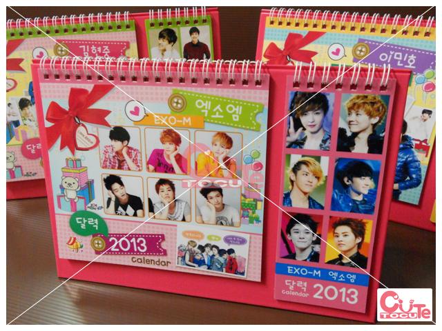 EXO-M CALENDAR 2013
