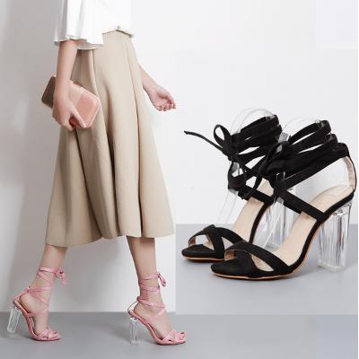 รองเท้าส้นสูง ไซต์ 35-40 สีดำ สีชมพู