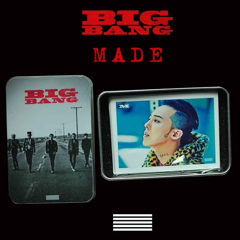 LOMO BOX SET BIGBANG MADE (30pc)