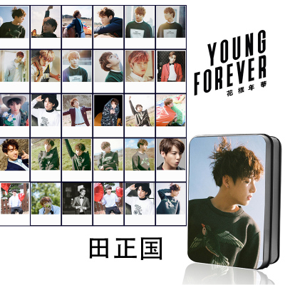 LOMO BOX SET BTS Young Forever - JUNGKOOK (30pc)