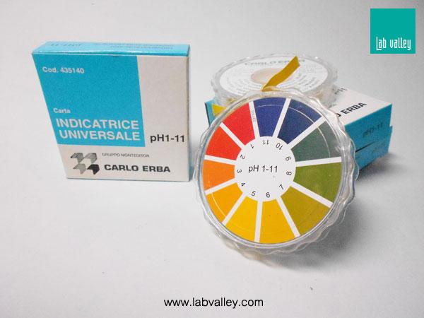 อินดิเคเตอร์สำหรับกรด-เบส indicator pH
