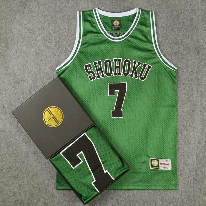 *Pre Order*SD slam dunk No.7 Shohoku Miyagi เสื้อกีฬา Basketball size M-2XL