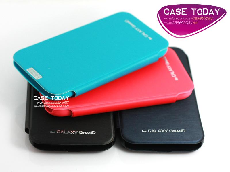 เคส Samsung Grand ซองผ้า Flip Cover