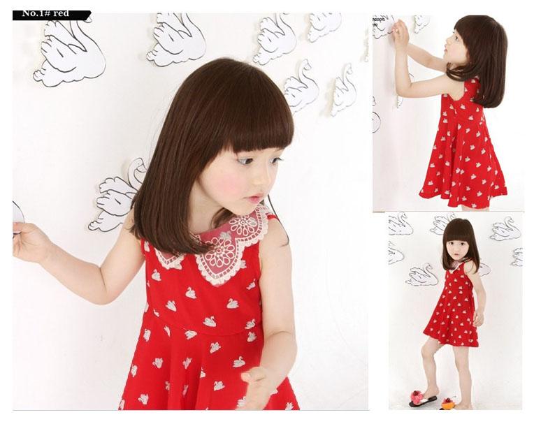 ชุดกระโปรงสาวน้อยสีแดง
