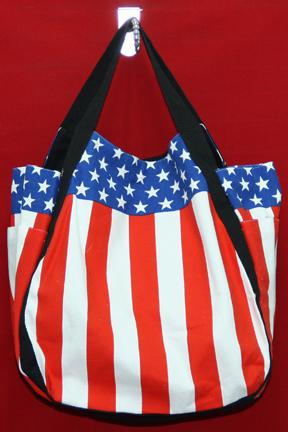 ทรงชาม ลายธงชาติสหรัฐ