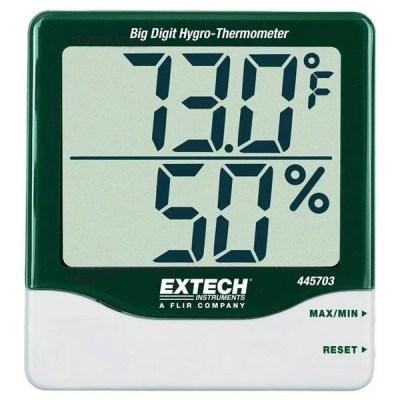 เครื่องวัดอุณหภูมิและความชื้นสัมพัทธ์ (Thermohygrometer)