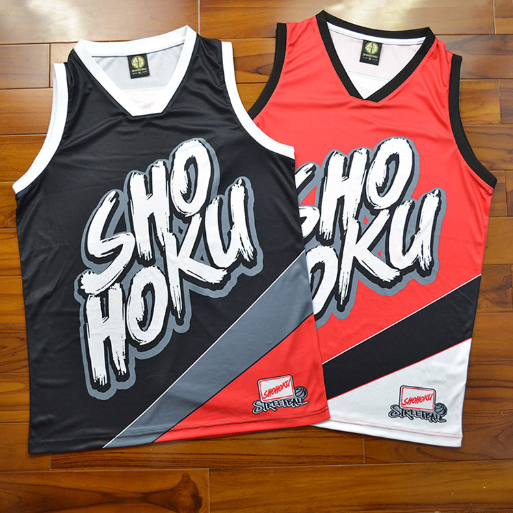 *Pre Order*Slamdunk Sakuragi เสื้อกีฬา SDBASKETBALL / SD Basketball size S-3XL