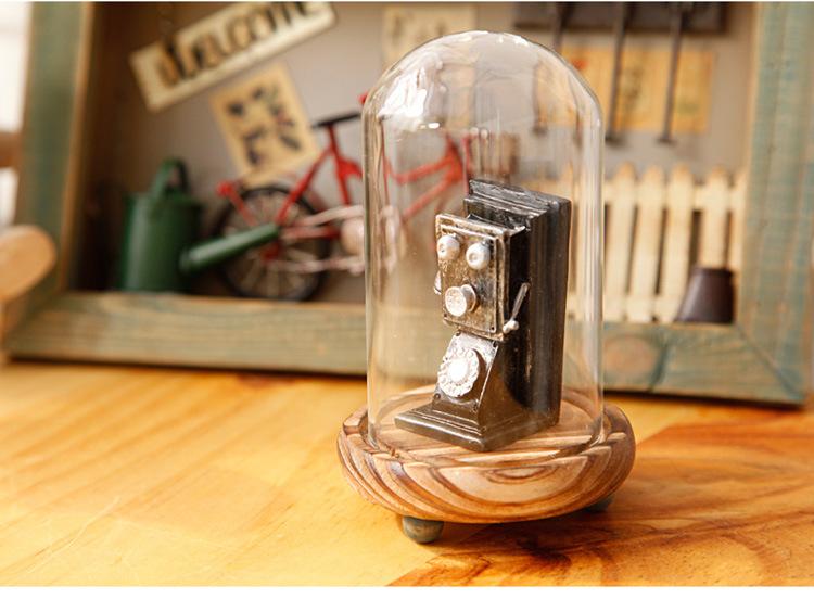 โหลโทรศัพท์ย้อนยุค สูง 10cm Tree05