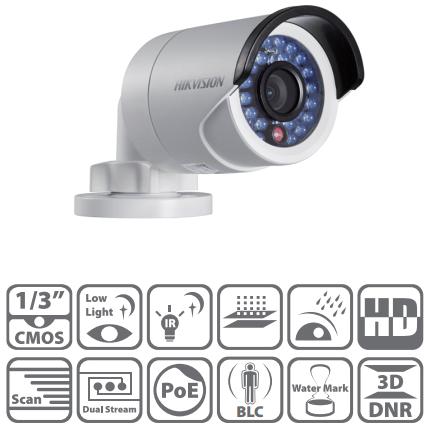 กล้อง IP Camera HIKVISION รุ่น DS-2CD2012-I