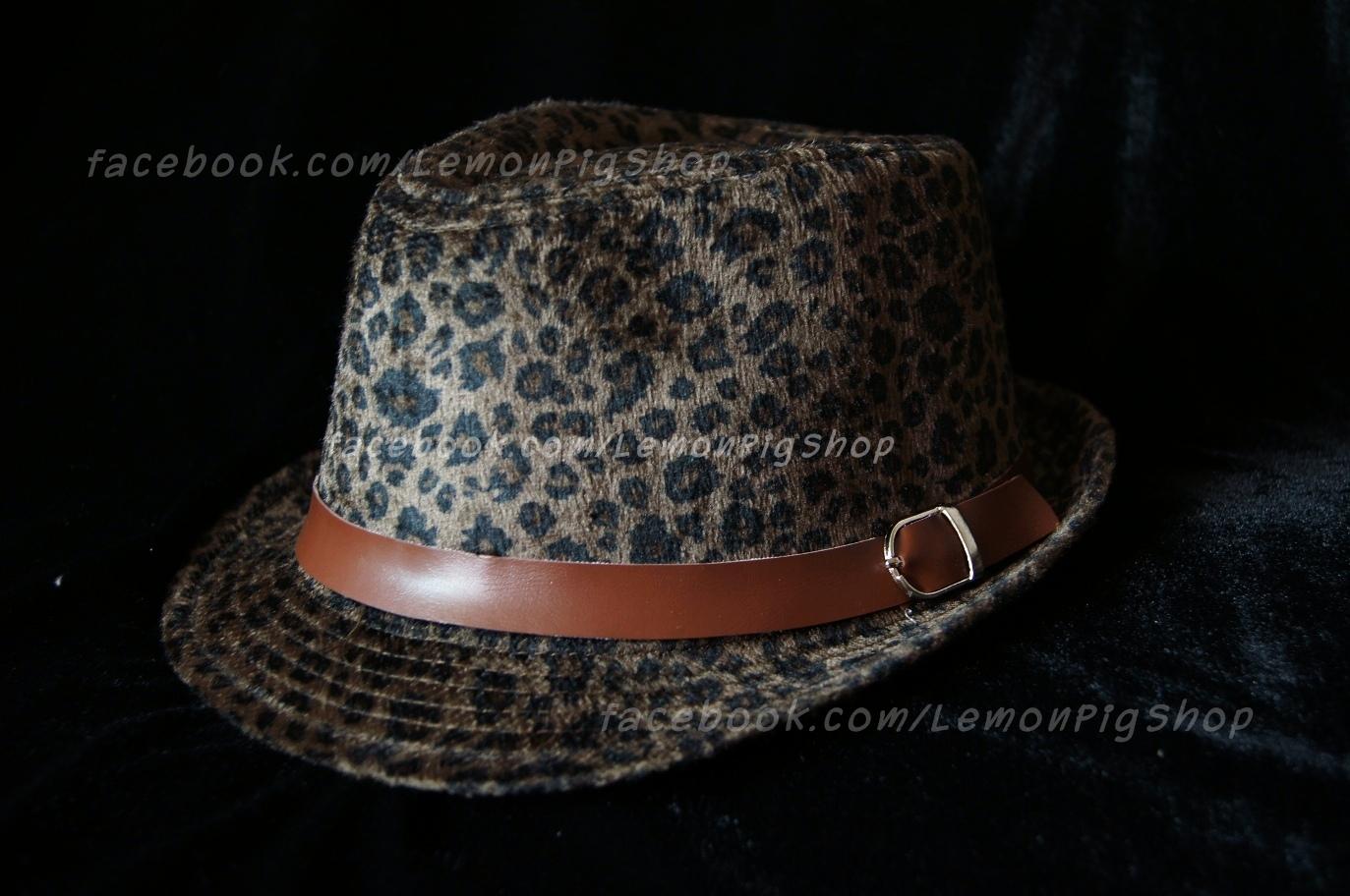 หมวกทรงไมเคิล ลายเสือดาว สุดเท่ห์ !!!