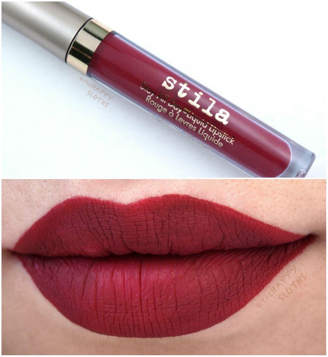 **พร้อมส่งค่ะ+ลด 50% ** Stila Stay All Day liquid lipstick สี Bacc 3ml. ไม่มีกล่อง