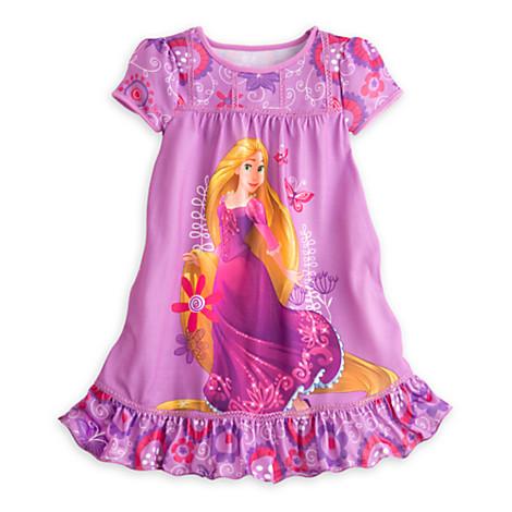 z Rapunzel Nightshirt for Girls เจ้าหญิง ราพันเซล