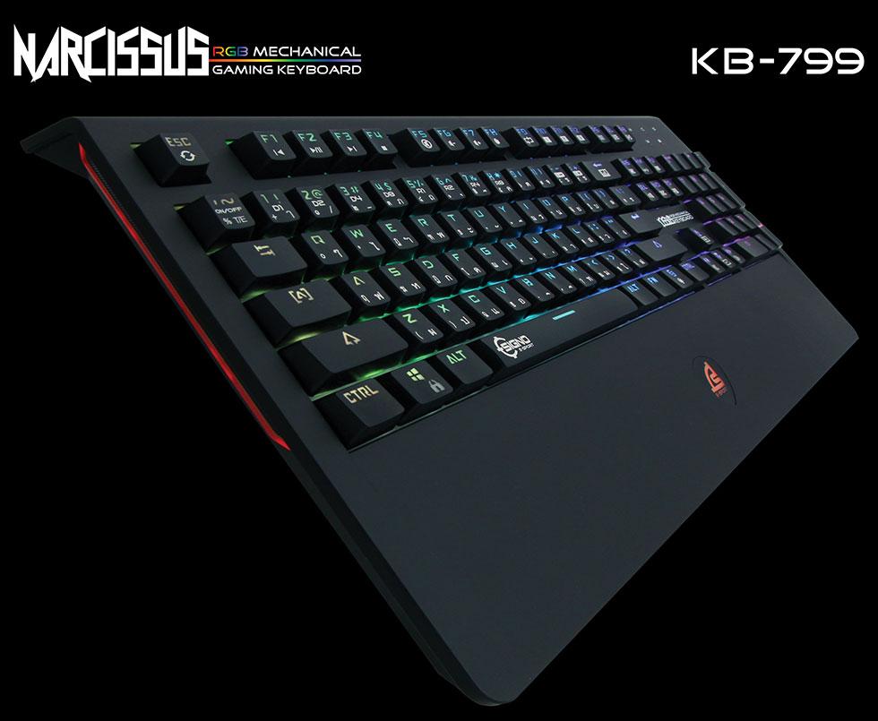 Signo E-Sport KB-799 Narcissus RGB Mechanical Gaming