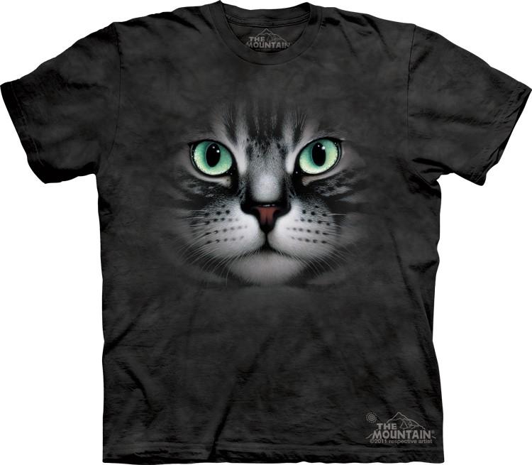 Pre.เสื้อยืดพิมพ์ลาย3D The Mountain T-shirt : Emerald Eyes