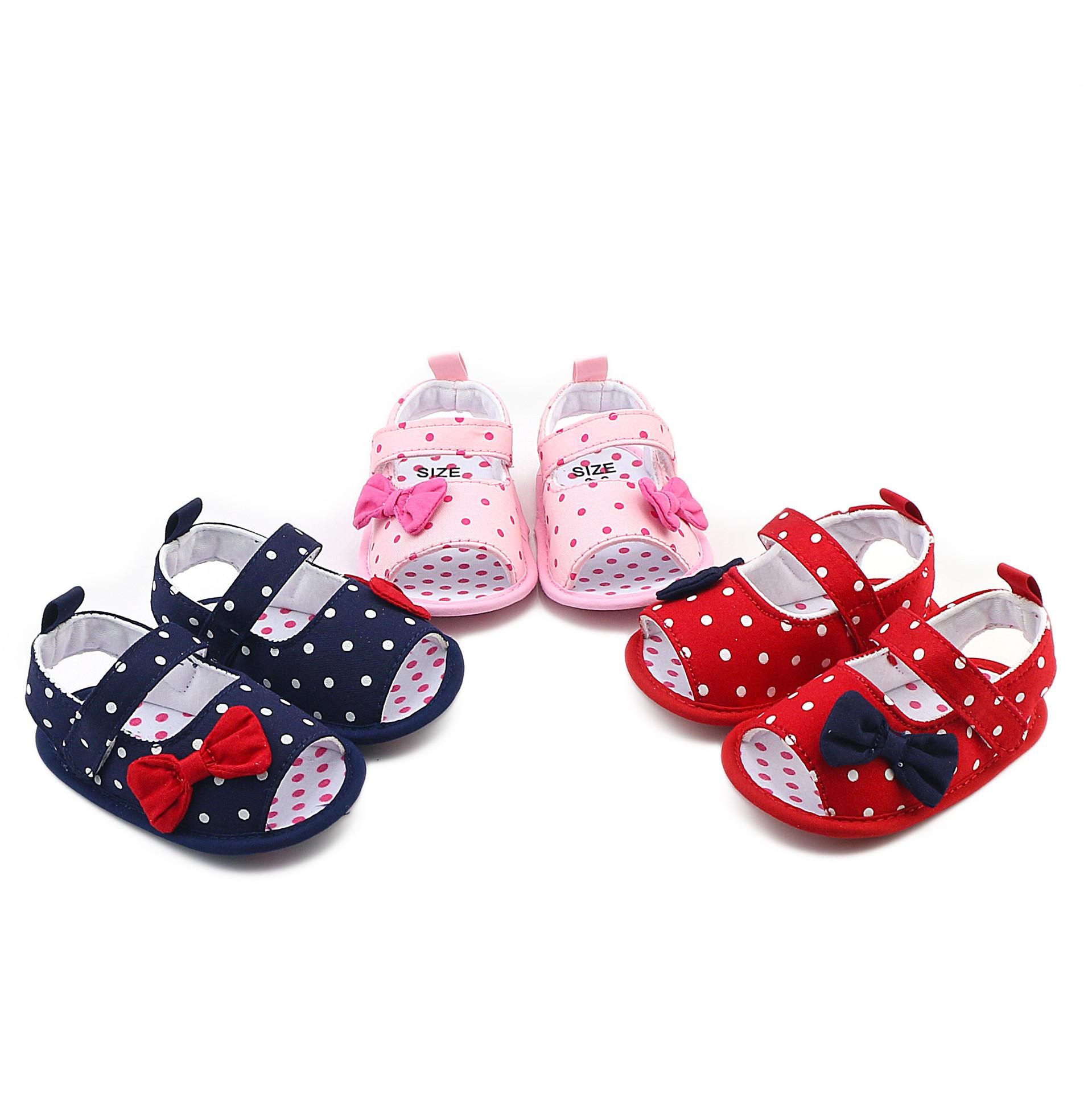 Pre-walker Baby Shoes รองเท้าเด็ก รองเท้าเด็กวัยหัดเดิน รองเท้าแตะเด็กหญิง พร้อมส่ง