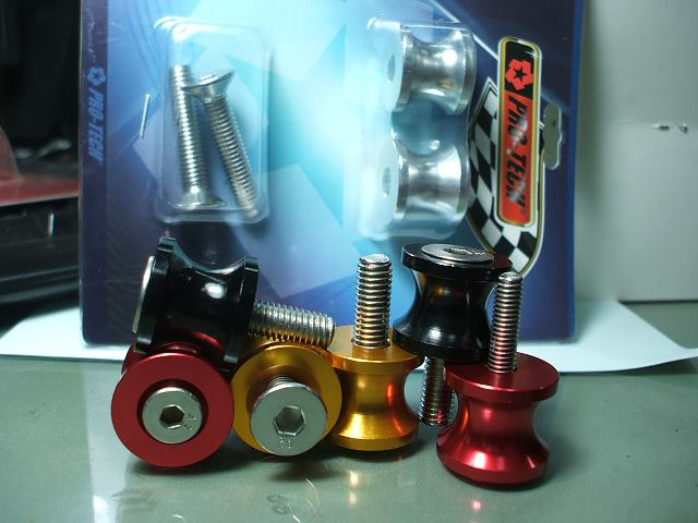 Spool ตัวเล็ก สำหรับรถสปอร์ต ที่ต้องการใช้ยกสแตนสแตนเลส ตัว V สำหรับรถทุกรุ่น (มีให้เลือก 3 ขนาด 3 สี)