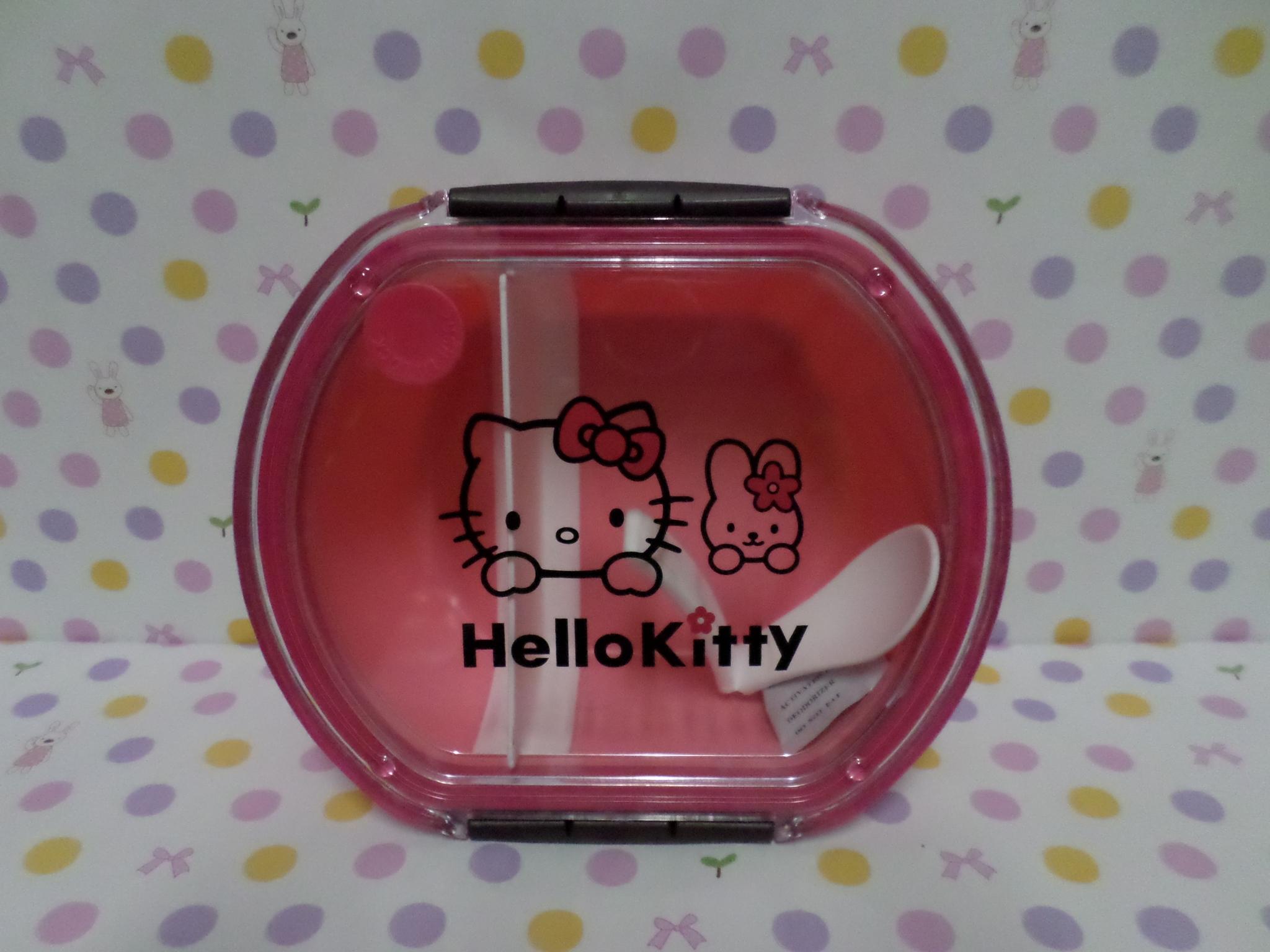 กล่องข้าว ฮัลโหลคิตตี้ Hello kitty#3 ขนาด กว้าง 14 ซม.* ยาว 16 ซม. * สูง 6 ซม. ลายฮัลโหลคิตตี้ สีชมพู
