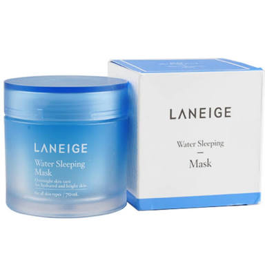 (ลด36%) LANEIGE Water Sleeping Mask 70ml มาสก์ที่มอบความชุ่มชื่นให้กับผิวได้อย่างล้ำลึกเพียงชั่วข้ามคืน ช่วยให้ผิวเปล่งปลังสุขภาพดี