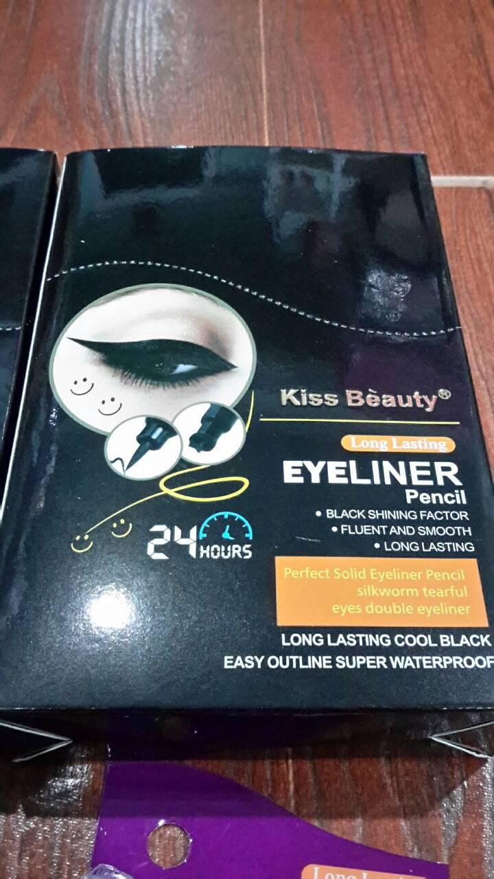 Kiss Beauty Perfect Solid Eyeliner Pencil อายไลเนอร์และปั๊มยิ้ม