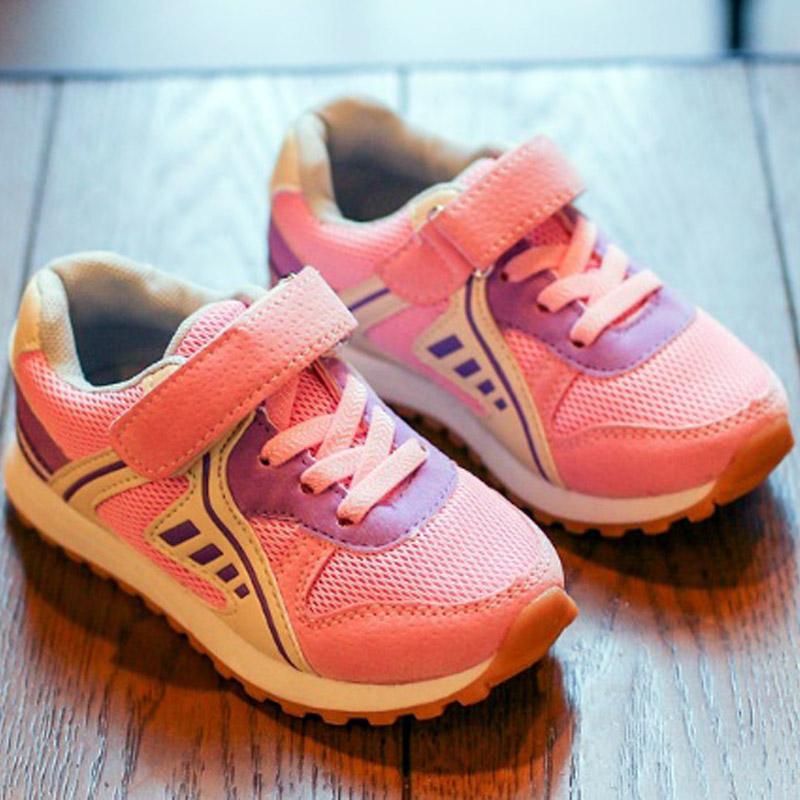 รองเท้าทรง(Sneaker) สีชมพู