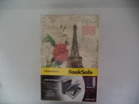 book safe ขนาด 240*155*55 มม. รหัส 0904