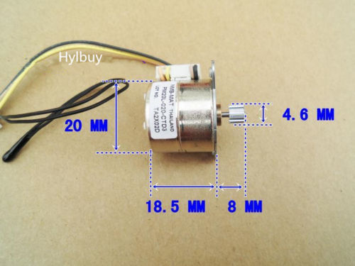 Two - Phase 4 Wire Small Stepper Motor