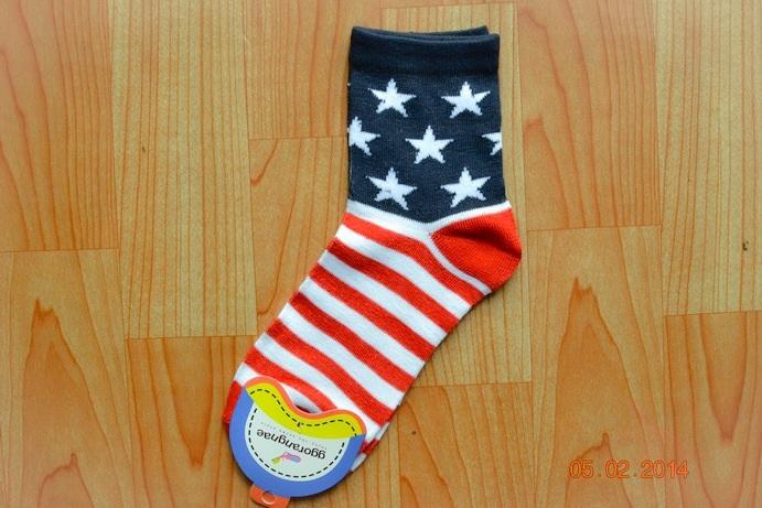 S147**พร้อมส่ง** (ปลีก+ส่ง) ถุงเท้าแฟชั่นเกาหลี ข้อยาว เนื้อดี งานนำเข้า(Made in China)