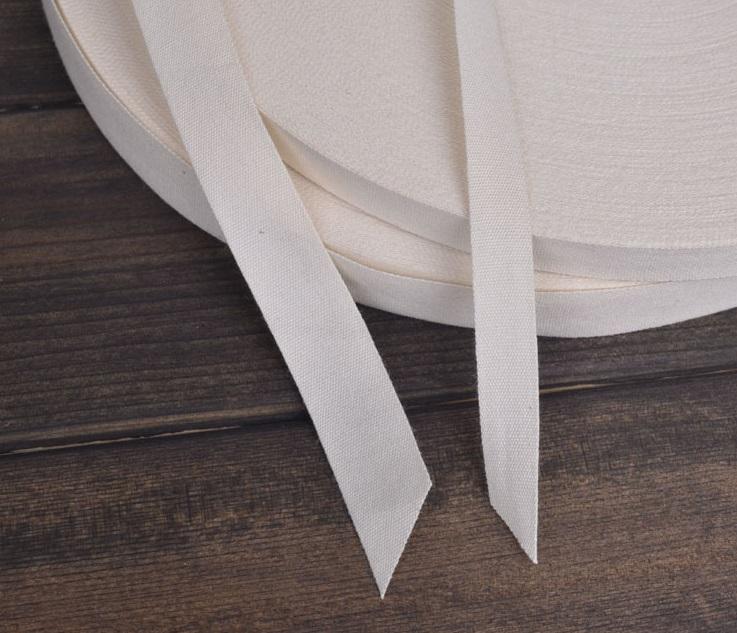 #เทปผ้าฝ้าย #cotton label tape #ริบบิ้นผ้า กว้าง2 ซม.แบ่งขายเป็นหลา